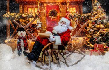 Obisk Božička