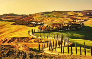 Romantična Toskana